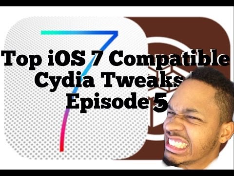 Episode 5 Working Barrel   Compatible Cydia Tweaks   Evasi0n 7.0.4 Untethered iOS