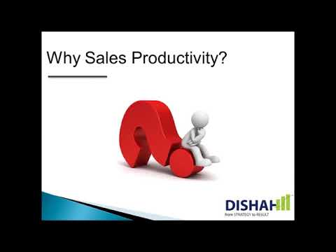 Sales Webinar | How to increase or improve Sales Team Productivity? - with Amit Sharma