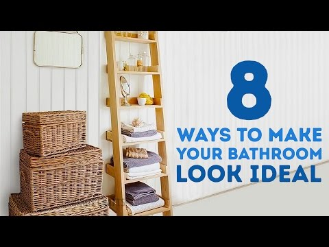 8 Ways To Make Your Bathroom Look IDEAL l 5-MINUTE CRAFTS
