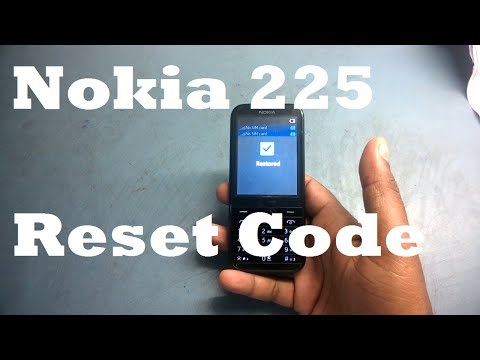 Nokia 225 Reset Settings Secret Code