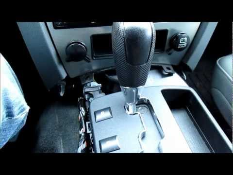 Jeep Grand Cherokee Electronic Shift module cleaning video.wmv