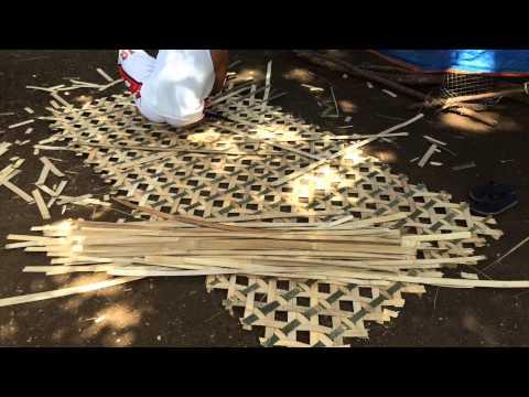 Philippines Bamboo Mat