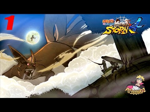 Naruto Shippuden: Ultimate Ninja Storm 4 - Story Mode | Walkthrough Part 1 | Death Match of Creation