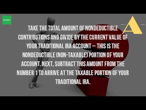 How Do I Figure The Taxable Amount Of An IRA Distribution?