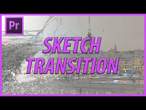 How to Create a Sketch Transition in Adobe Premiere Pro CC (2018)