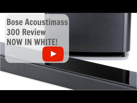 Bose Acoustimass 300 Unboxing + Setup + Review NOW IN WHITE!