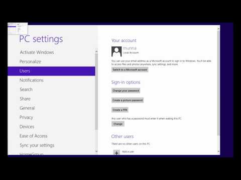 How to set login password in windows 8 [New]