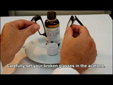 Fix Broken Acetate Glasses: Eyewear Glasses Repairs Made Easy.