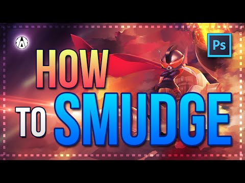 ✭ Tutorial Photoshop - How to smudge for a Background Wallpaper ✭