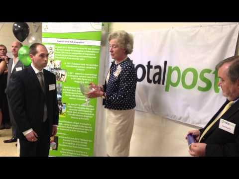 Totalpost's Queen's Award Presentation August 2013