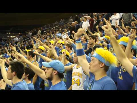 UCLA Basketball Student In-Game Traditions