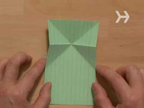 How to Make an Origami Jumping Frog