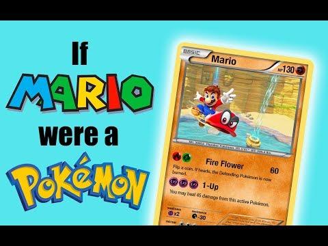 How to Make Your Own MARIO Pokémon Card! (Photoshop) [400 Subs]