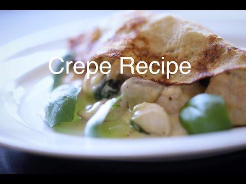 Crepe recipe part 1