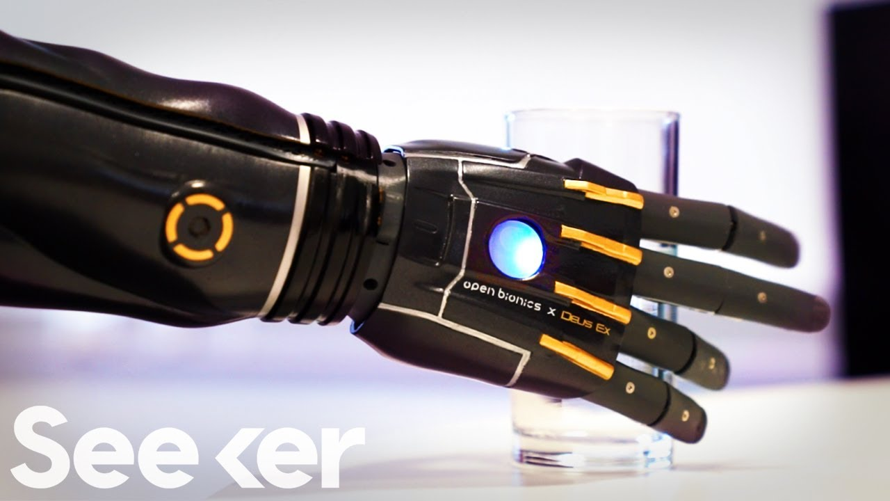 Engineers Created A New Bionic Arm That Can Grow With You