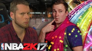 I HATE THIS GUY! HE MADE ME MEOW! NBA 2K17 MYPARK