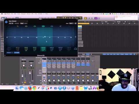 Logic Pro X- Mixing Singing Vocals R&B