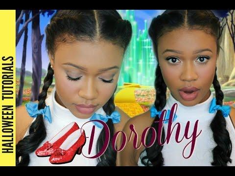 Halloween Makeup Tutorial: Wizard of Oz - Dorothy