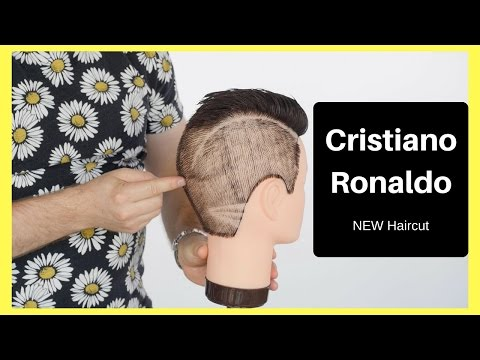 Cristiano Ronaldo New Haircut - TheSalonGuy