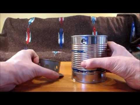Super Easy DIY Wood Gas Camp Stove