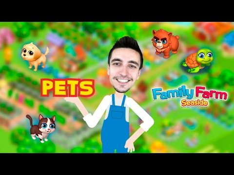 [Family Farm Seaside] Pets! How to get, release or change pets?