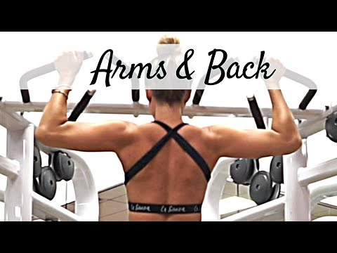 ARMS & BACK | Cable Workout