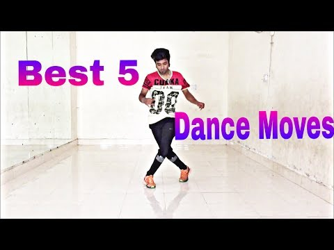Best 5 Dance Moves Every Beginner Should Learn !