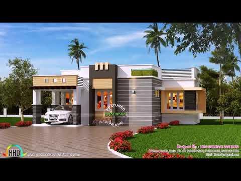 Single Floor 4 Bedroom House Plans In Kerala