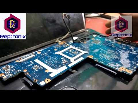 How to repair laptop motherboard for No display Fault||Laptop Motherboard repair in Hindi Training|