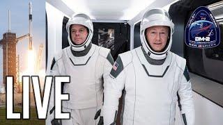 Lancement SpaceX/NASA DM-2 commenté FR