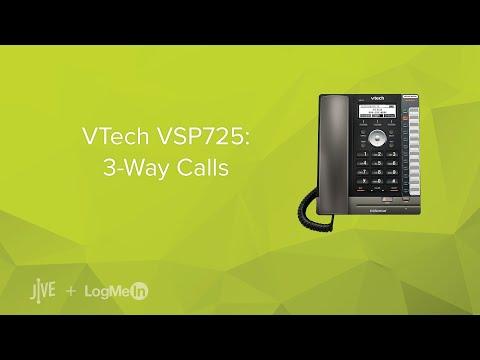 VTech VSP725: 3-Way Calls