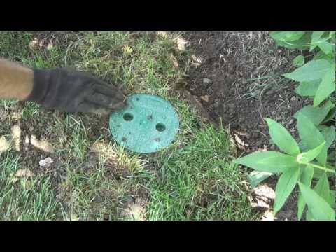 How to replace a sprinkler valve box