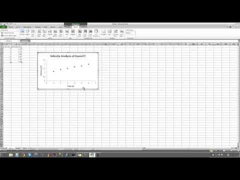Making a Simple Scientific Graph - Microsoft Excel 2010