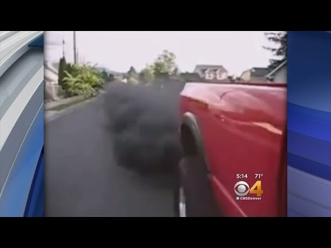 Some Truck Owners Intentionally Blast Black Smoke