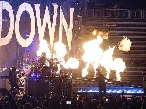 Shinedown Live Full Show @ T-Mobile Arena in Las Vegas 10/28/16