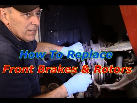 How to replace front  brakes and rotors on a 2007 Chevy Silverado