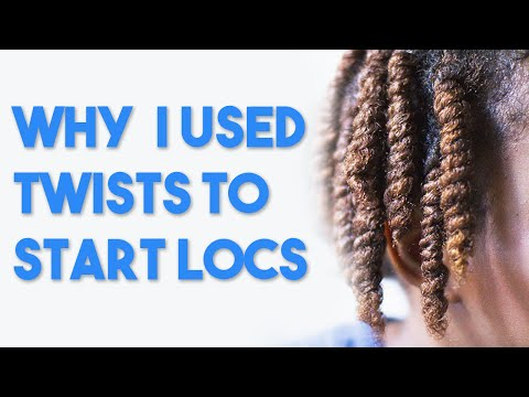 Coils vs Twists for Starting Locs
