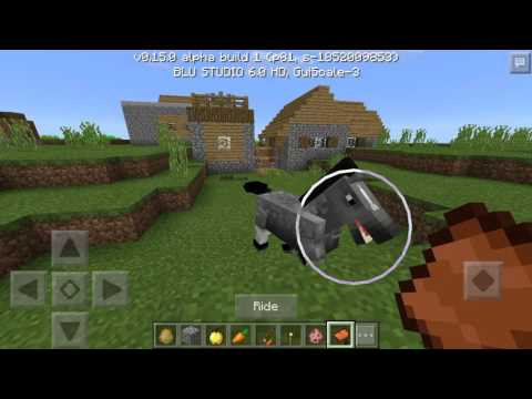 Minecraft Pocket Edition 0.15.0 Build 1 First Look