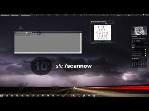 *NEW* Windows 7 Skin and Rainmeter Install Tutorial V2 | Icons included