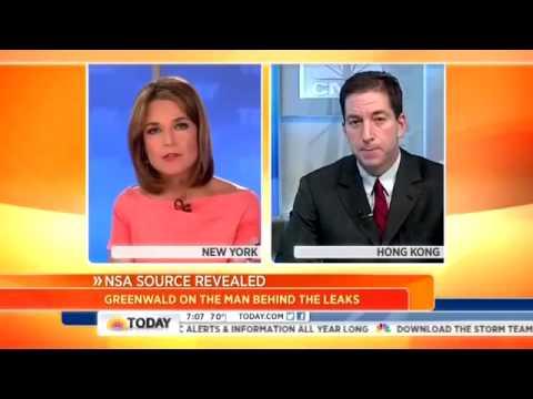 Guardian u0027s Glenn Greenwald Schools NBC u0027s Guthrie On NSA Snooping