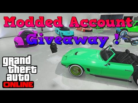 GTA V Modded Acount Giveaway !!