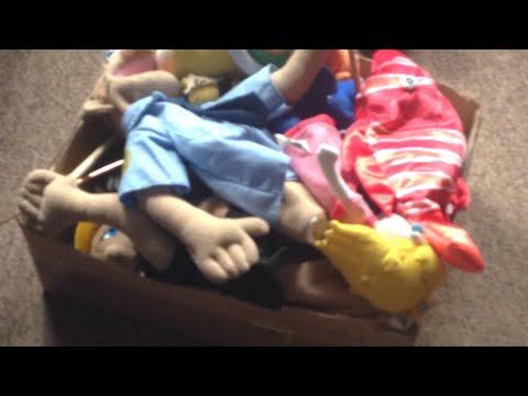 Puppet + plushie box!