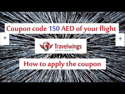 Travel wings promo code 150 AED off your flight