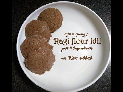 Ragi idli,finger millet healthy recipe