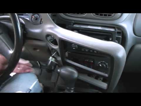 Chevrolet Trailblazer Instrument Cluster Removal Procedure in about 10 minutes