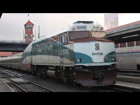 Amtrak Cascades 510 - Everett, WA to Vancouver BC