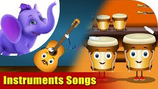 Songs on Musical Instruments | 4K | Appu Series