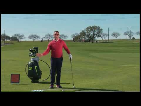 Sean Foley Hitting A Fade Intentionally - turn an accident into an advantage