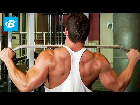 Wide-Grip Lat Pulldown - Back Exercise - Bodybuilding.com