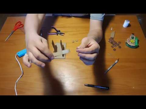 How to build the cardboard trebuchet